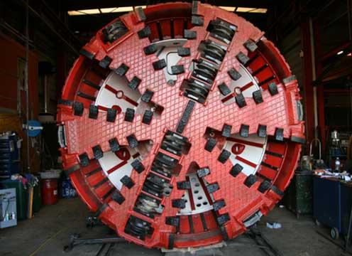 underjordiske boremaskine