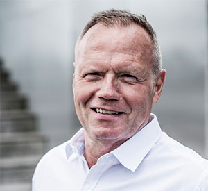 Portrætfoto af Lars Therkildsen